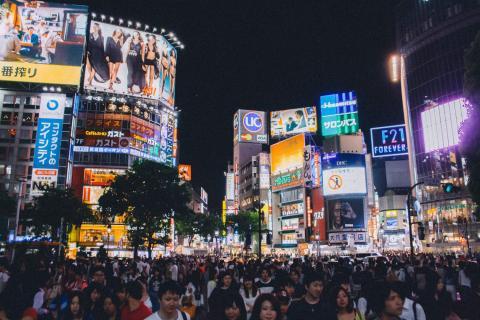Cruce en Tokyo