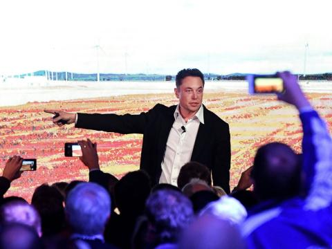 Elon Musk trabajadores Tesla