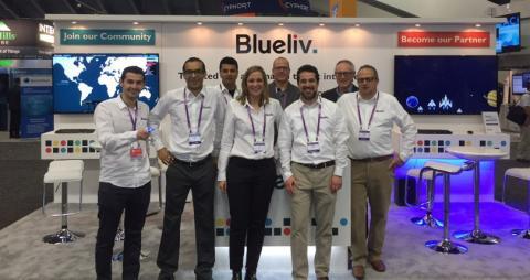 El equipo de BlueLiv en la RSA Conference 2016