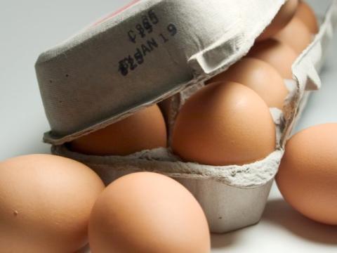 Fecha de caducidad de huevos