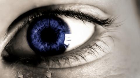 La irritación ocular, síntoma de la alergia primaveral.