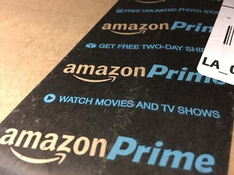 Imagen de un paquete de Amazon Prime