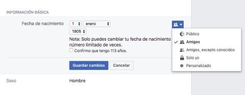Info basica FB