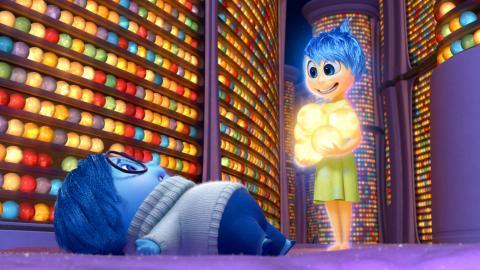 Fotograma de Inside Out, una película Pixar.