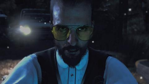 Imagen espeluznante del líder de la secta de Far Cry 5, Joseph Seed.