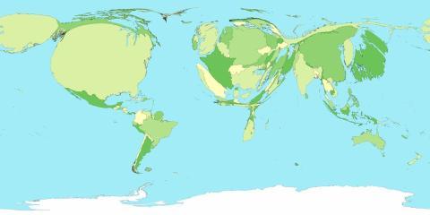 mapa según fgasto en sanidad