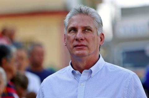 Miguel Díaz-Canel, futuro presidente de Cuba