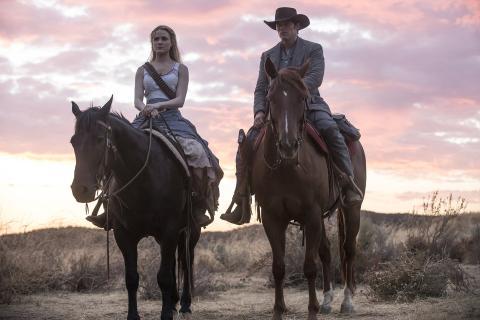 Un momento de la primera temporada de Westworld