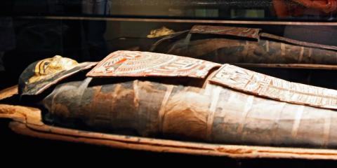 Algunas personas piensan que el Titanic estaba condenado debido a la maldición de una momia.
