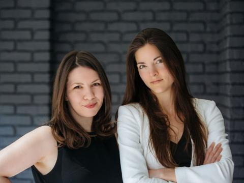 Alex Cavoulacos y Kathryn Minshew, cofundadoras de Muse.