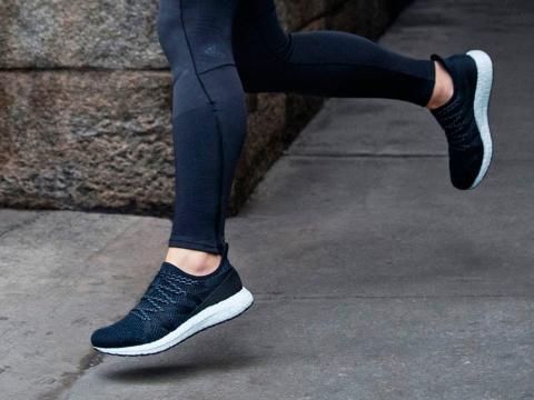 Las nuevas zapatillas Adidas AM4NYC creadas en la fábrica de Atlanta.