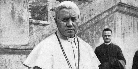 El papa Pío X.