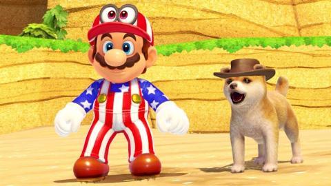 Perro de Super Mario Odyssey