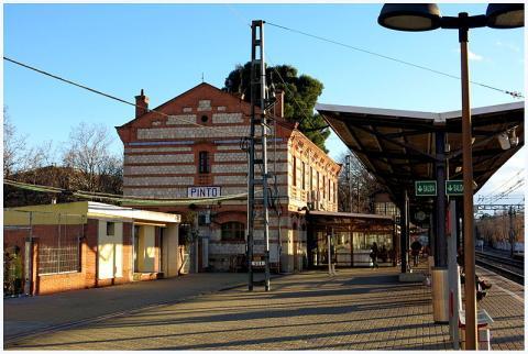 Estación de tren de Pinto