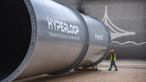 El primer Hyperloop comercial se fabrica en España