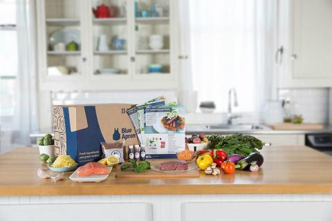 Productos de Blue Apron