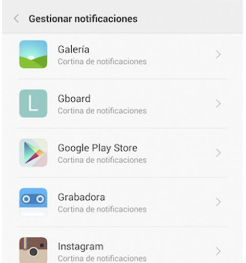 Reduce las notificaciones
