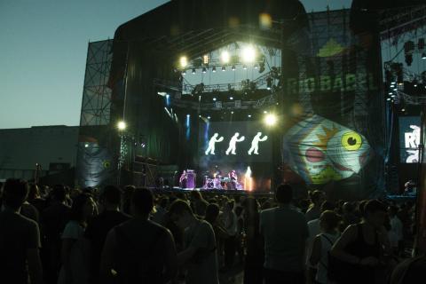 Foto de la primera edición del festival Río Babel, en julio de 2017.