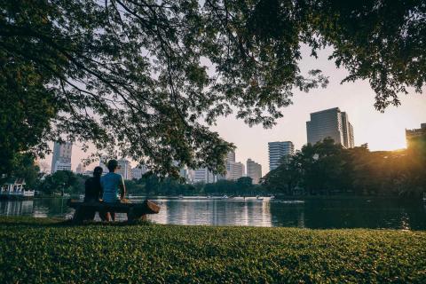 Río en Bangkok