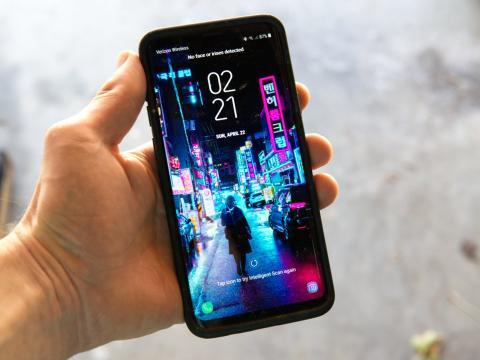 Samsung a prueba de atropellos