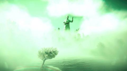 Una de las secuencias oníricas de Far Cry 5.