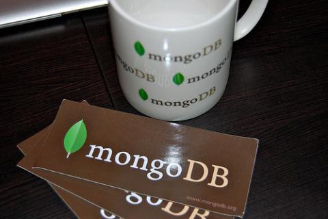 Una taza de MongoDB