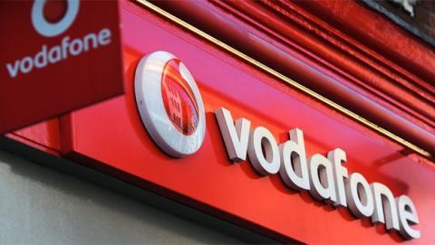 Una tienda de Vodafone