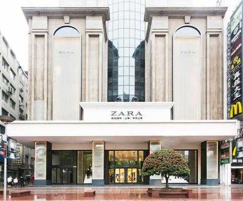 Una tienda de Zara en Shanghái