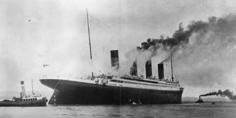 El Titanic.