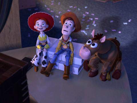 Fotograma de Toy Story 2, una película Pixar.