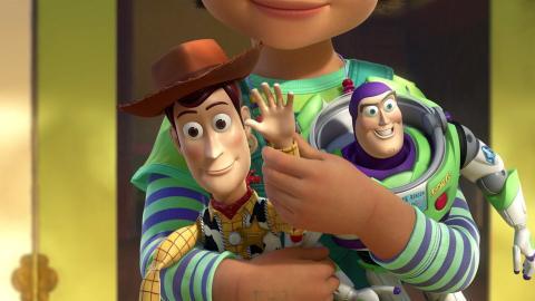 Fotograma de Toy Story 3, una película Pixar.
