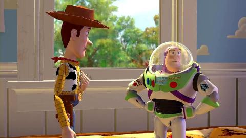 Fotograma de Toy Story, la primera película Pixar.
