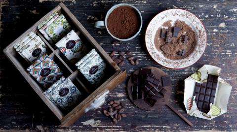 Una serie de sorprendentes chocolates elaborados por Paco Llopis.