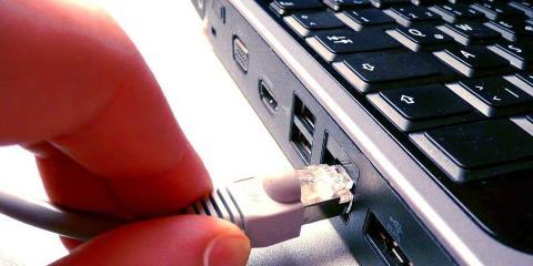 Velocidad de internet en el sistema de control de China.