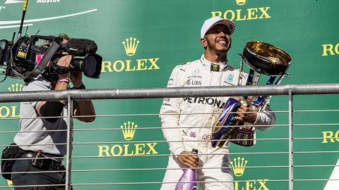 Victoria Lewis Hamilton F1