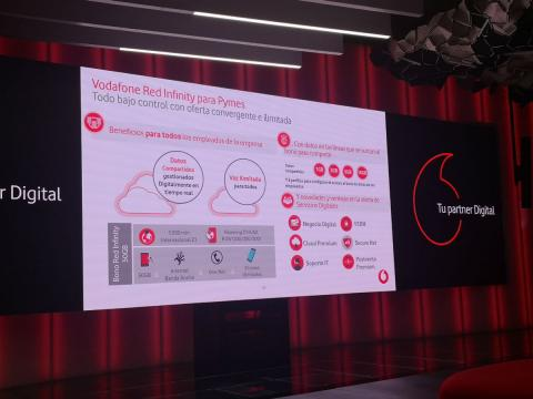 Vodafone Red Infinity, para pymes