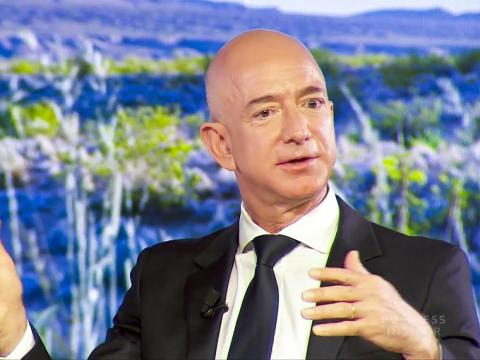 1. Jeff Bezos, CEO of Amazon. Net worth: £83 billion ($112.6 billion). Bezos has built a retail empire and is the richest man in the world.