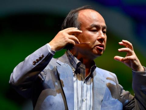 SoftBank CEO Masayoshi Son. SoftBank would go on to take a big stake in Uber, which runs a competitor to Deliveroo, Uber Eats.