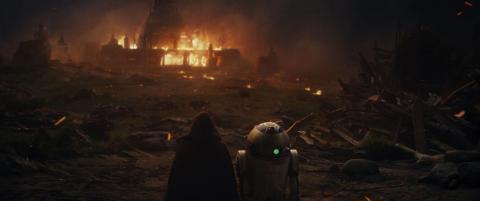 12. The Jedi at Luke Skywalker's temple