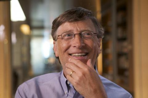 13. Gates says if Microsoft hadn't worked out, he probably would've been a researcher for artificial intelligence.