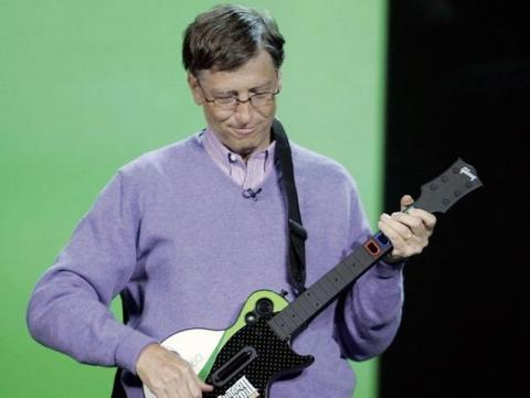 "15. Bill Gates' favorite band? Weezer. He also calls U2 a ""favorite"" and says he's still ""waiting for Spinal Tap to go back on tour."""