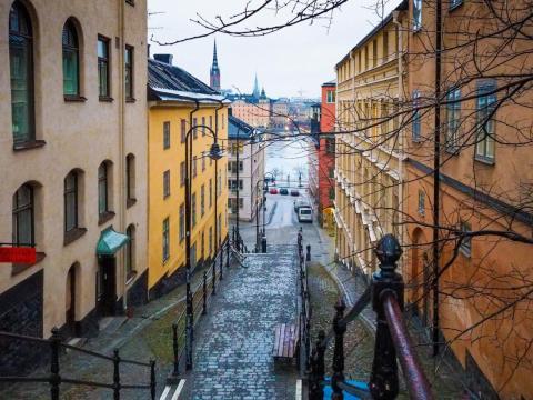 T-32. Stockholm, Sweden