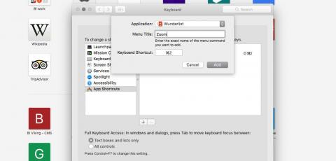 21. You can also create custom keyboard shortcuts for certain apps.