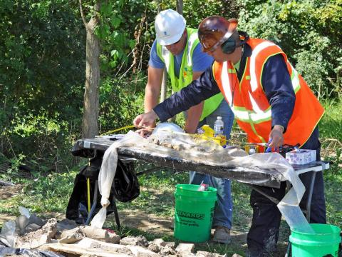 18. Los ingenieros ambientales investigan, diseñan, planifican o realizan tareas de ingeniería en la prevención y control de peligros ambientales.