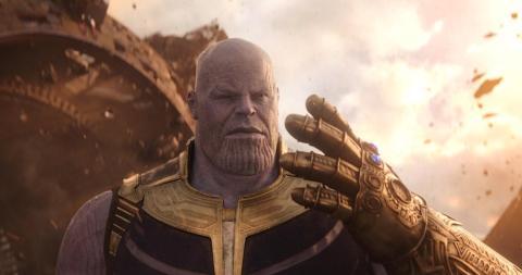 """""""Vengadores: Infinity War""""."""
