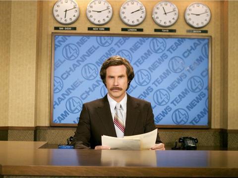 3. Media person in TV or radio