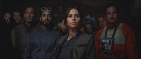 "4. The cast of ""Rogue One"""