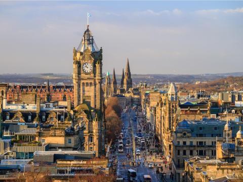 18. University of Edinburgh, UK — 86.9