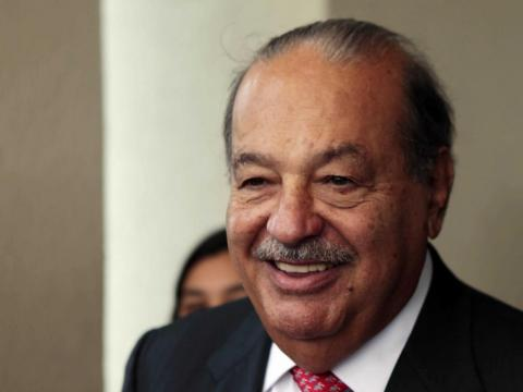 5. Carlos Slim Helú, director of America Movil. Net worth: £49.7 billion ($67.5 billion). Helú used to own a $40 million stake in Shazam and, among a number of assets, controls South American music streaming service Claro Música.