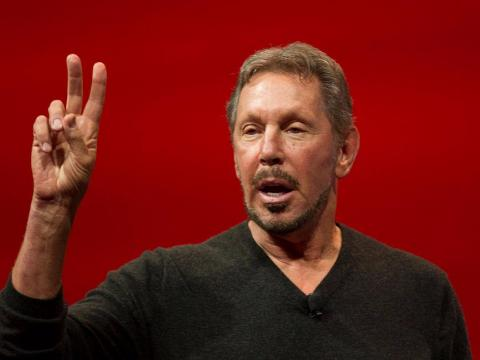 5. Larry Ellison, executive chairman of Oracle. Net worth: £43.3 billion ($58.8 billion). Ellison cofounded Oracle in 1977 and still works as the firm's CTO.